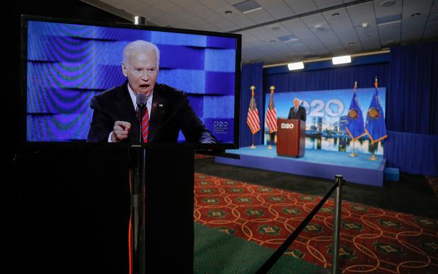 Joe Biden officiellement investi par les démocrates pour la présidentielle américaine