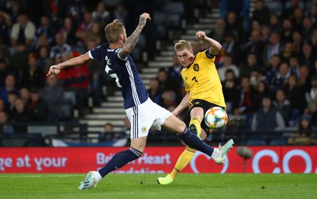 Écosse - Belgique : Kevin qui gagne