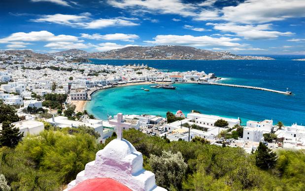 Nieuwe coronamaatregelen in twee Griekse regio's