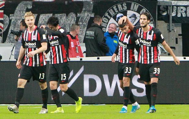 L'Eintracht Francfort écrase le Bayern et prépare au mieux son déplacement à Sclessin