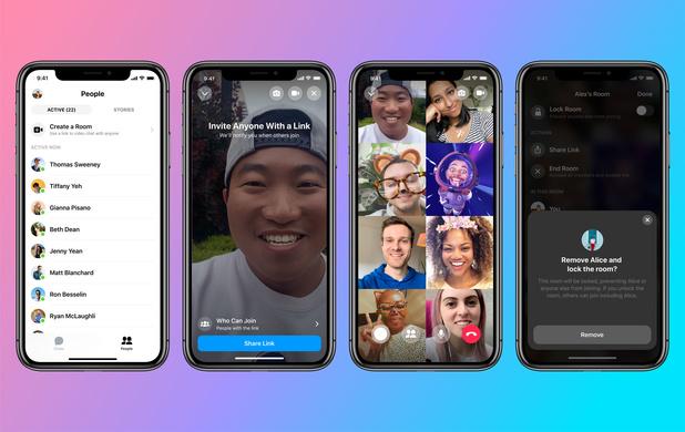 Messenger étend les appels vidéo à 50 personnes