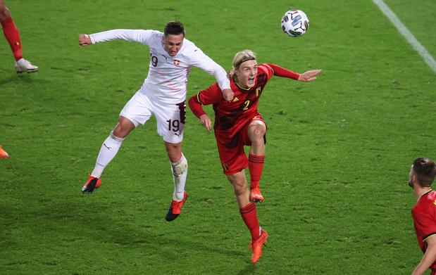 """Bornauw: """"Contre la Suisse, j'avais attaqué le match avec la meilleure des mentalités"""""""