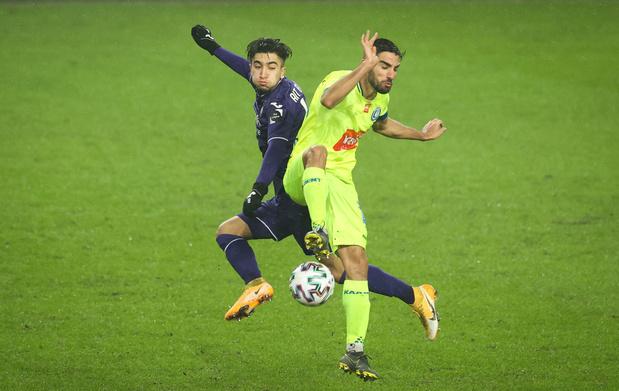 Anderlecht en Gent spelen gelijk in zoutloos duel
