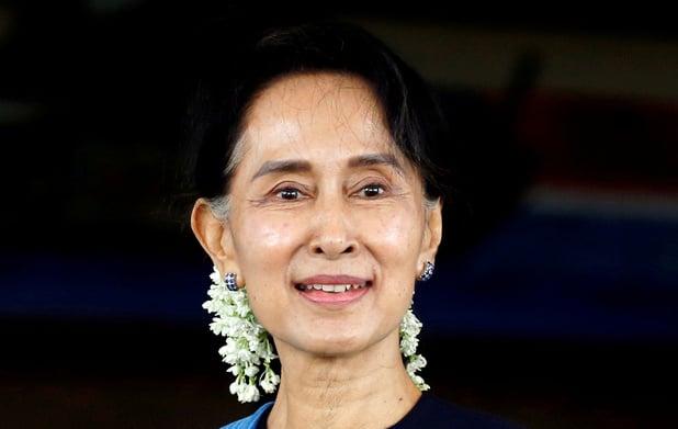 'Aung San Suu Kyi aangeklaagd voor hoogverraad'