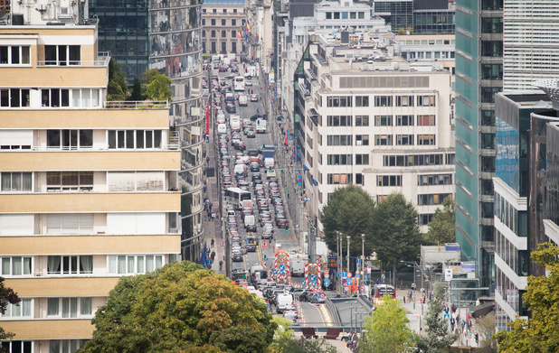 Mobilité: les solutions faciles et rapides d'un expert pour désencombrer Bruxelles