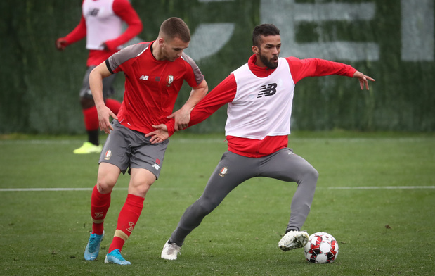 Le Standard, Charleroi et Anderlecht reprennent l'entraînement