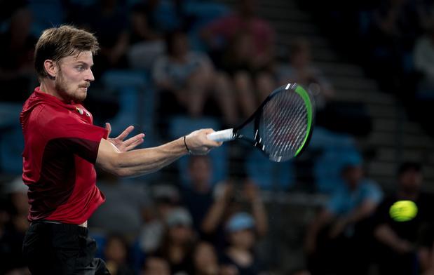 """Goffin: """"Très heureux pour mon pays et en vue de l'Australian Open"""""""