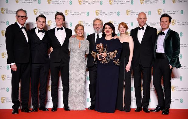À une semaine des Oscars, 1917 de Sam Mendes triomphe aux Bafta britanniques