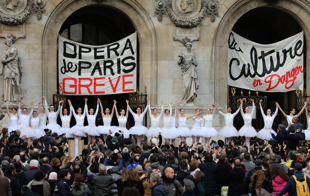 Réforme des retraites en France: Concession du gouvernement aux danseurs de l'Opéra de Paris