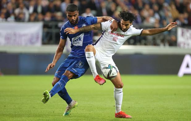 Anderlecht remonte sur le podium en partageant contre La Gantoise (1-1)