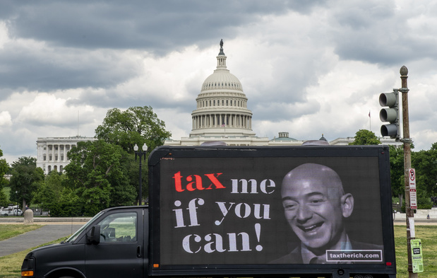Jeff Bezos encore un peu plus riche, toujours un peu plus riche