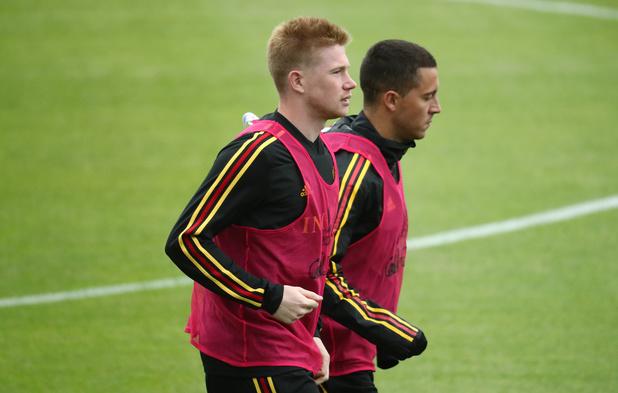De Bruyne et Hazard nominés pour le Onze de l'année
