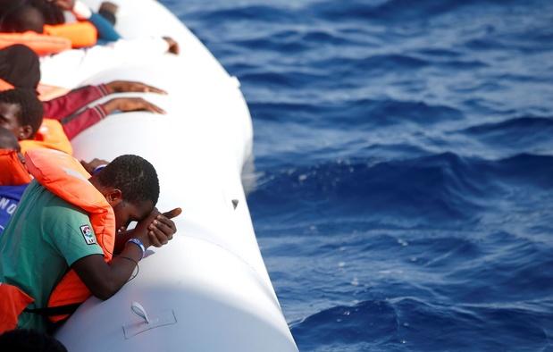 """Migrants en Méditerranée: 14 pays européens d'accord sur un """"mécanisme de solidarité"""""""