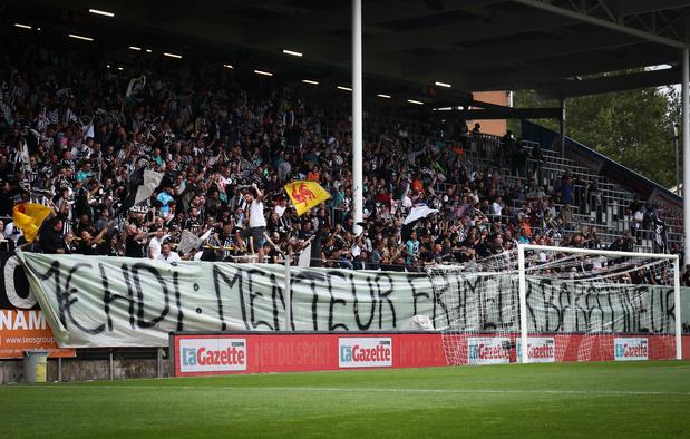 Charleroi: ça grogne chez les supporters