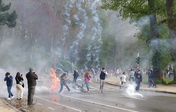 La Boum 2: le calme est revenu au Bois de la Cambre, 60 arrestations