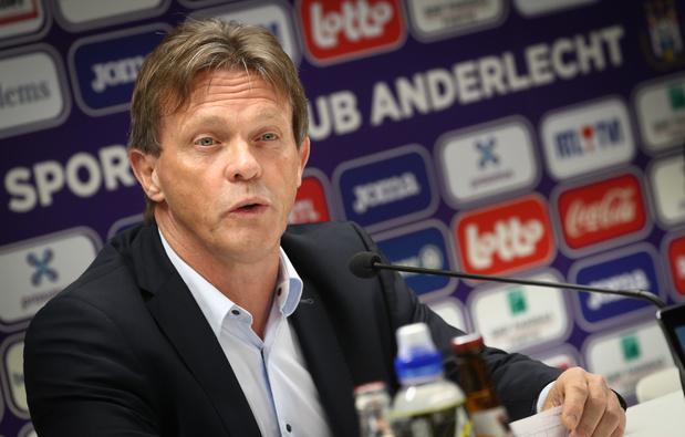 """Vercauteren: """"Nous ne sommes pas Manchester City, mais j'ai l'ADN d'Anderlecht"""""""