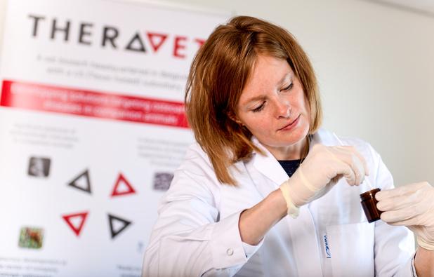 TheraVet commercialise son premier produit pour réparer les os de nos chiens et chats