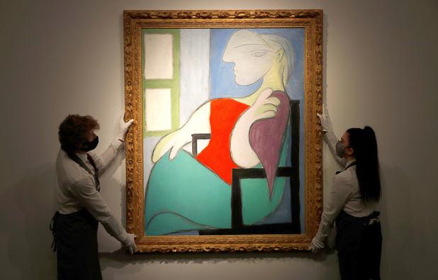 Schilderij van Picasso geveild voor 85 miljoen euro
