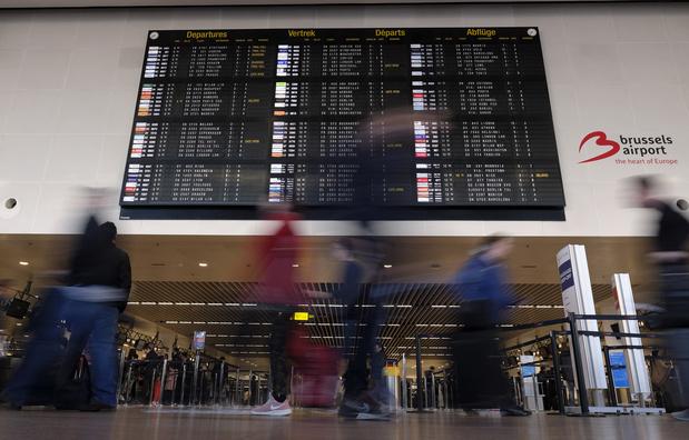 Stiptheidsacties Brussels Airport: voorlopig geen problemen