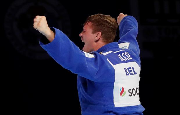Matthais Casse déroche l'argent aux mondiaux de judo