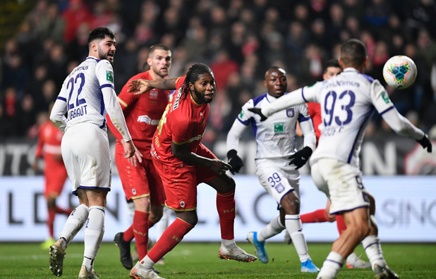 L'Antwerp et Anderlecht se quittent sur un match nul