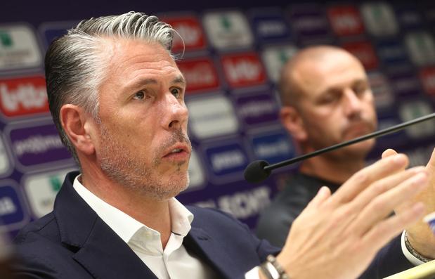 """Verschueren se montre résolument optimiste pour Anderlecht après un départ mitigé: """"Cela va venir"""""""