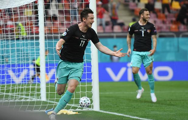 Invallers geven Oostenrijk eerste EK-overwinning