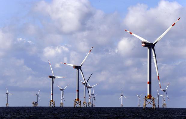 Belgische windparken op zee zitten op recordkoers