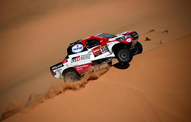 Dakar: Fernando Alonso 2e, Fabian Lurquin et Mathieu Serradori s'offrent la 8e étape