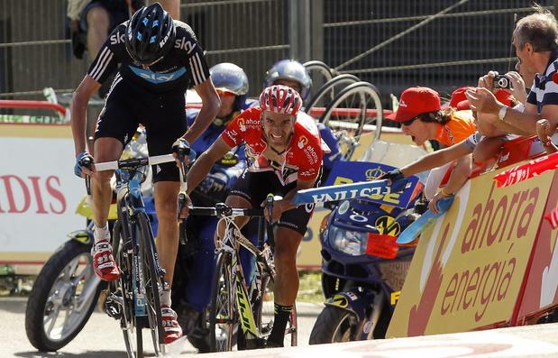 Froome krijgt Vuelta 2011 cadeau