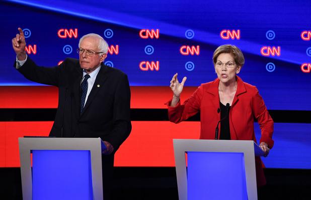Que retenir du débat des démocrates américains ? Warren et Sanders vivement secoués par les modérés