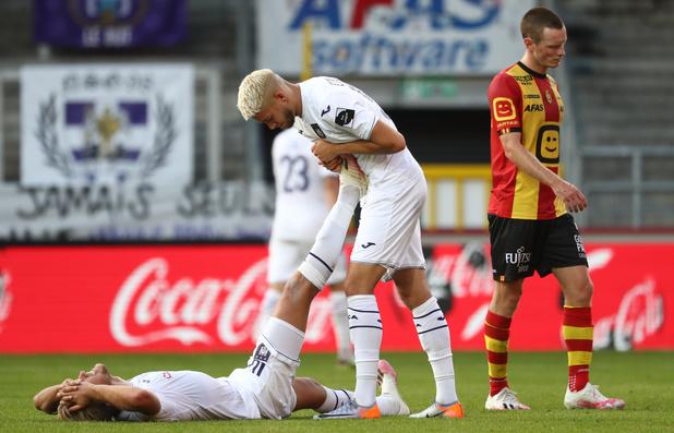 Crampes et joueurs cramés : Anderlecht a inquiété d'un point de vue physique