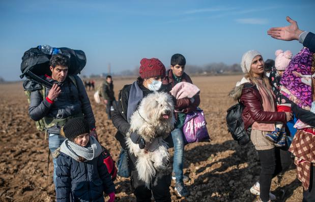 'Griekenland hield dit weekend al bijna 10.000 migranten tegen'