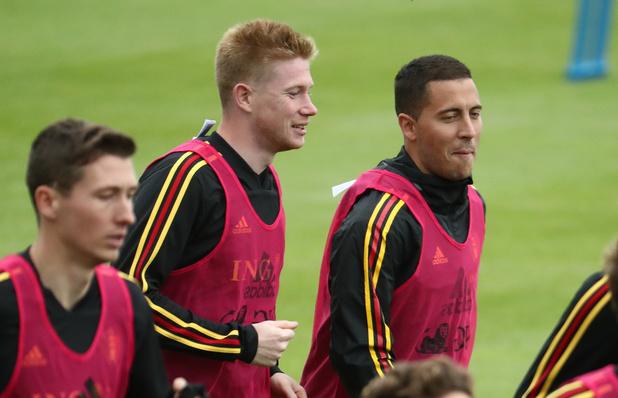De Bruyne et Hazard parmi les 30 nominés pour le Ballon d'Or