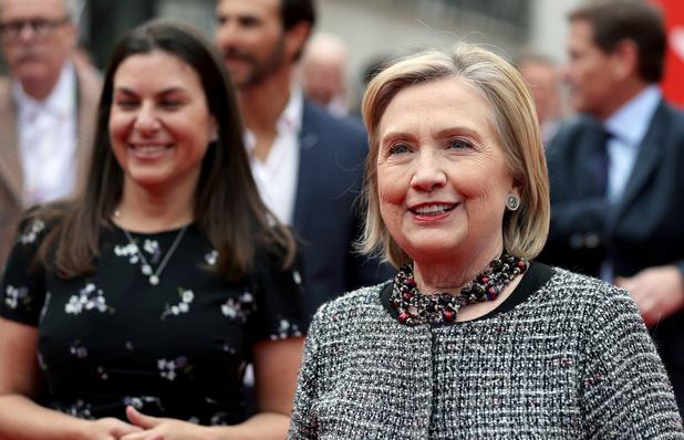 """Hillary Clinton: """"Trump est un danger pour la démocratie"""""""