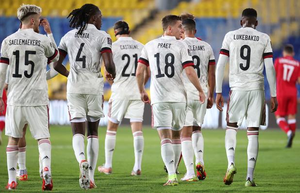 Les Diables Rouges assurés de conserver la 1e place du classement FIFA