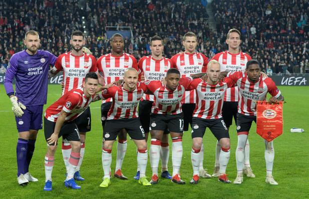 Le PSV recrute un jeune attaquant d'Anderlecht