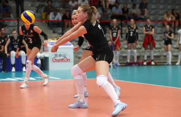Yellow Tigers worden uit EK volleybal gespeeld door Italië