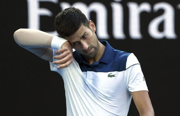 """""""J'étais inquiet"""", avoue Djokovic, tenant du titre"""