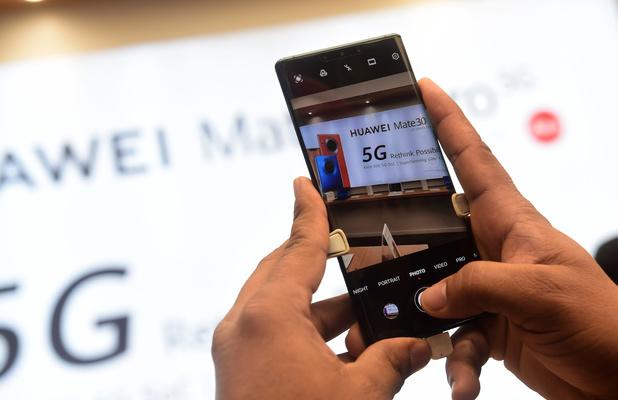 Huawei voor het eerst 's werelds grootste smartphoneverkoper