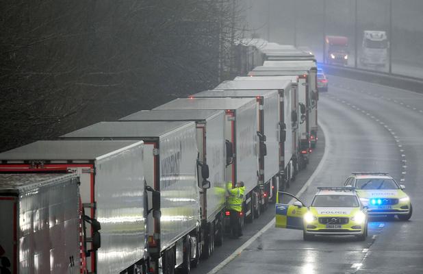 Britse handelaars vrezen voor lege schappen
