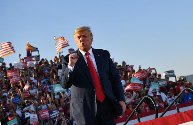 Elections USA: à deux semaines du scrutin, Trump enchaîne les meetings