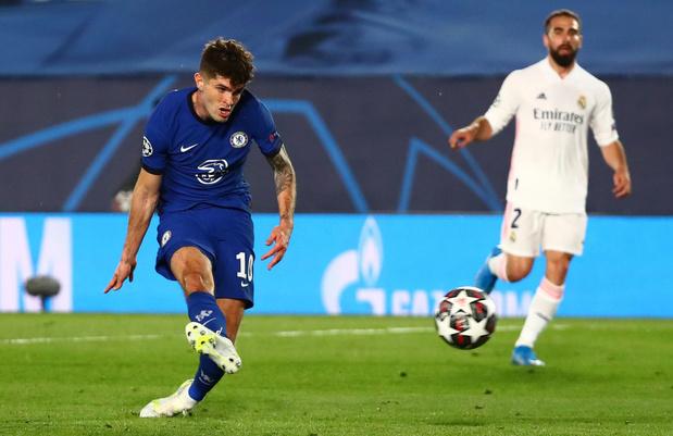 Champions League: Real Madrid speelt 1-1 gelijk tegen beter Chelsea