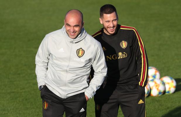 """""""A mes yeux, il n'est pas si gros"""", plaisante Martinez sur Eden Hazard"""