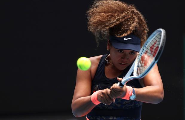 Australian Open: Osaka met moeite voorbij Muguruza