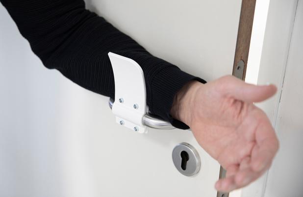 Lutte anti-corona: téléchargez et imprimez en 3D votre ouvre-porte mains libres