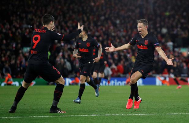 L'Atlético élimine Liverpool, tenant du titre, après d'incroyables prolongations