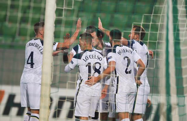 Alderweireld et Tottenham se jouent de Ludogorets, Mertens passeur avec Naples