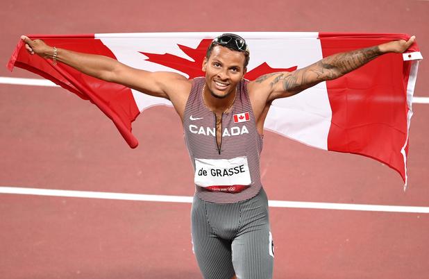 Tokyo 2021: Le Canadien De Grasse sacré sur 200 mètres, le Kenyan Korir sur 800 mètres