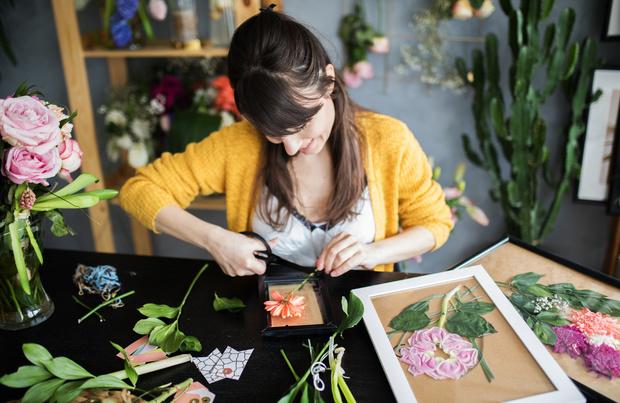 Fleurs séchées: la tendance déco à faire soi-même